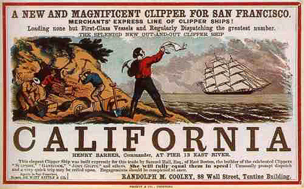 CaliforniaClipperGoldRush